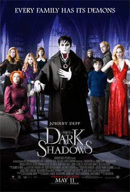 Dark Shadows, le film de 2012