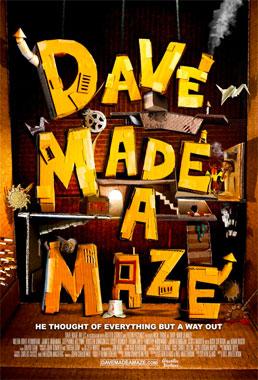 Dave Made A Maze, le film de 2017