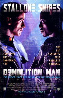 Demolition Man, le film de 1993