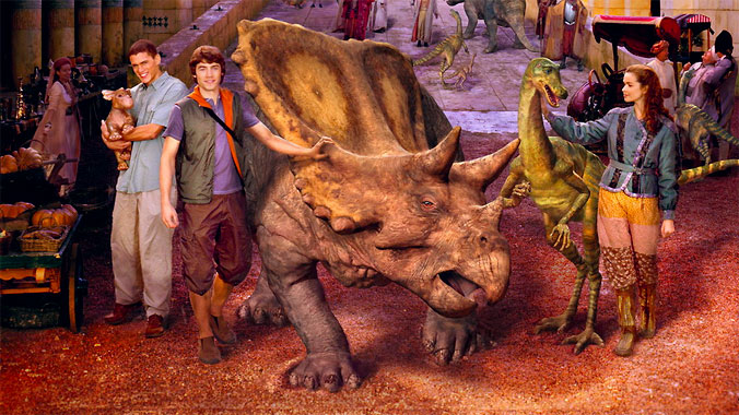 Dinotopia (2002) les personnages