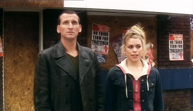 Doctor Who 2005 S01E08: Fêtes des pères