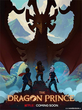 The Dragon Prince la série animée de 2018