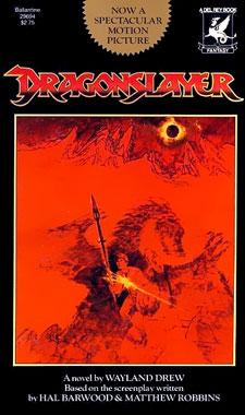 Le dragon du lac de feu, la novélisation de 1981