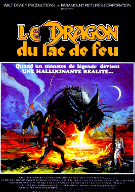 Le dragon du lac de feu, le film de 1981