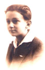 Philippe Ebly, enfant