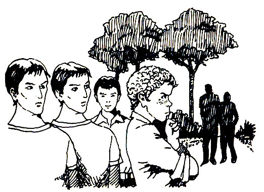 """""""Sarlat avait voulu profiter de sa journée de liberté pour bavarder à nouveau"""", Angel Arias-Crespo,in Chasse au tigre en Corrèze (Hachette 1983)"""