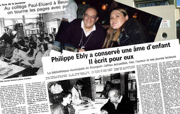 Philippe Ebly et son public