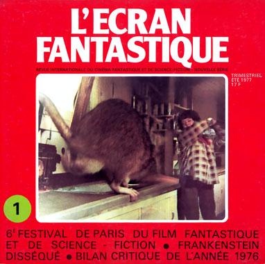 L'écran fantastique, le numéro 1 de l'été 1977