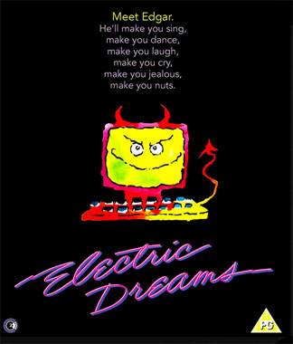 Electric Dream (1984), la Belle et l'Ordinateur, le blu-ray anglais de 2017