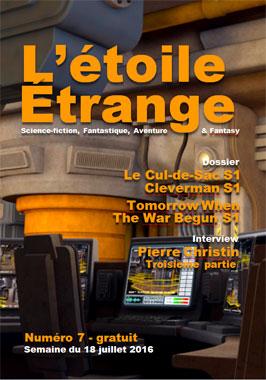 L'étoile étrange, le numéro 7 du fanzine eblyen (2016)