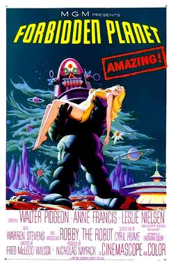 Planète interdite, le film de 1956 poster