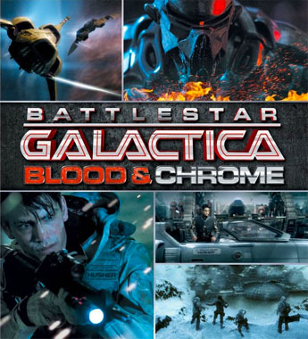 Battlestar Galactica: Blood & Chrome, la mini-série de 2012