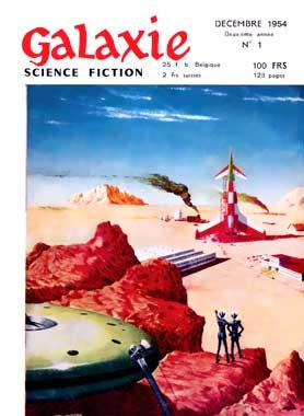 Galaxie Science Fiction, année 2 numéro 1 de décembre 1954