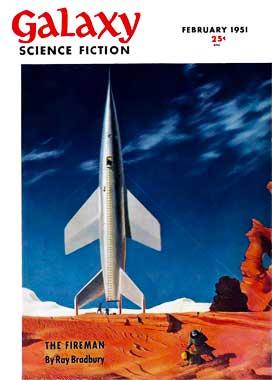 Galaxy Science Fiction, le numéro de février 1951