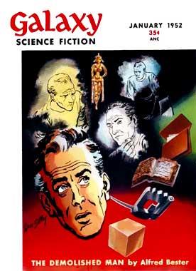 Galaxy Science Fiction, le numéro de janvier 1952