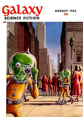 Galaxy Science Fiction, le numéro d'août 1952