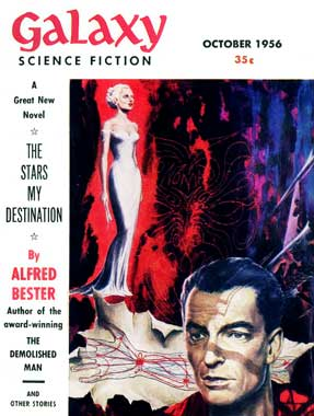 Galaxy Science Fiction, le numéro d'octobre 1956