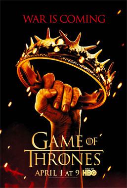 Game Of Thrones, la saison 2 de 2012 de la série télévisée de 2011