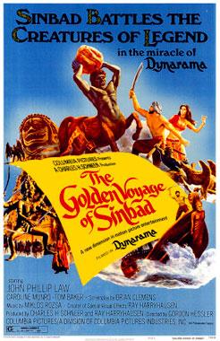 Le voyage fantastique de Sinbad, le film de 1973
