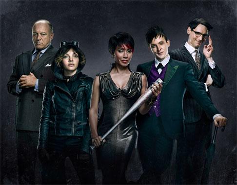 Gotham (2014), les méchants