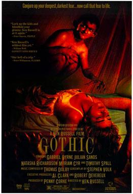 Gothic, le film de 1986