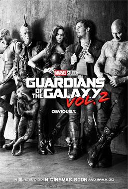 Les Gardiens de la Galaxie 2, le film de 2017