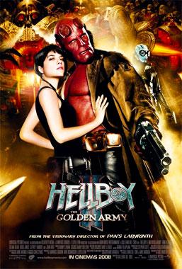 Hellboy 2: Les légions d'or maudites, le film de 2008