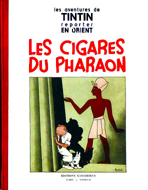 Tintin 04: Les cigares du pharaon
