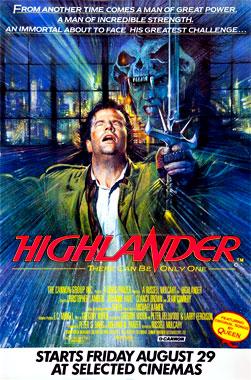 Highlander, le film de 1986