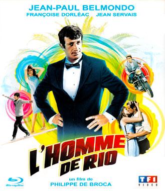 L'homme de Rio, le blu-ray français de 2013 chez TF1 VIDEO.