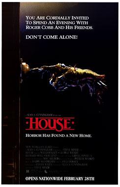 House, le film de 1986, poster