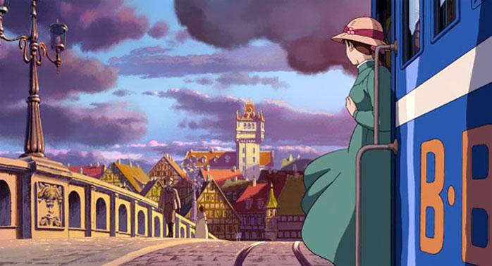 Le château ambulant, le dessin animé de 2004