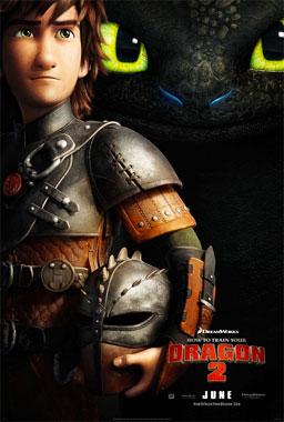 Dragons 2, le film animé de 2014 poster