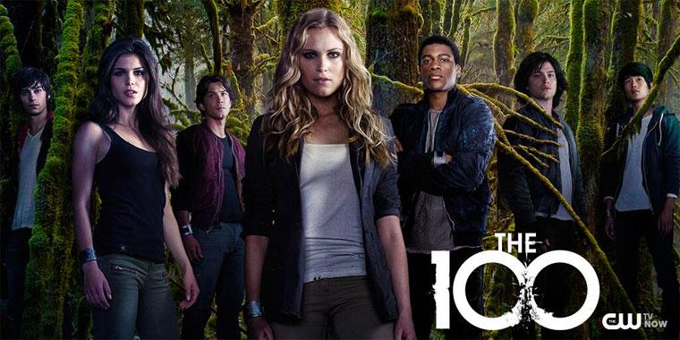 The 100 (2014) les héros