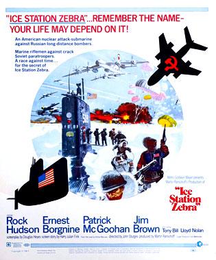 Destination Zebra: Station polaire, le film de 1968