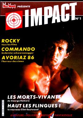 Impact, le numéro 1 de janvier 1986