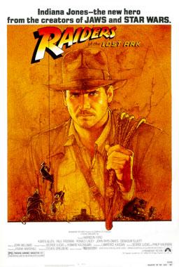 Les aventuriers de l'Arche perdue (1981) poster