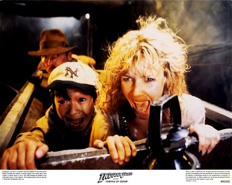 Indiana Jones et le temple maudit, le film de 1984