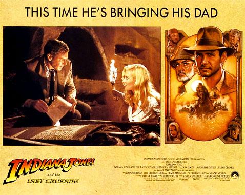 Indiana Jones et la dernière croisade, le film de 1989