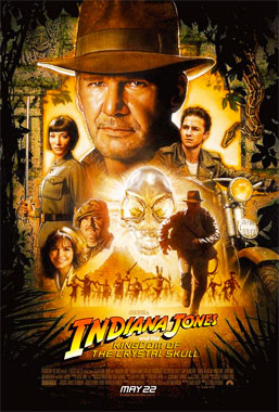 Indiana Jones et le Crâne de Cristal, le film de 2008