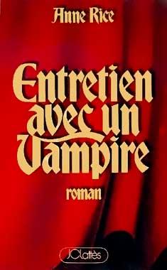 Entretien avec un vampire, le roman de 1976