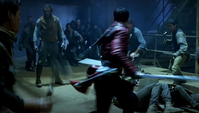 Into The Badlands S01E02: Un poing comme une balle (2015)