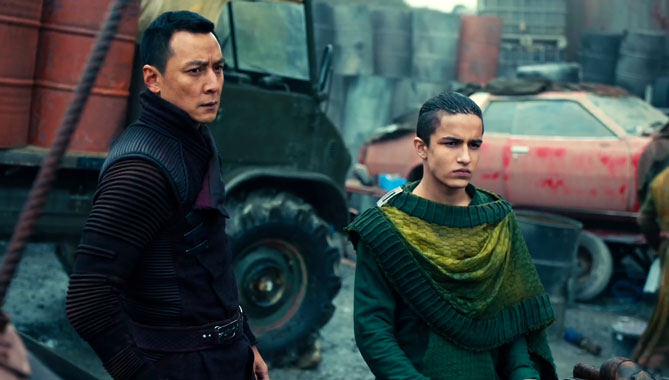 Into The Badlands S02E08: Le dard de la queue du Scorpion (2017)
