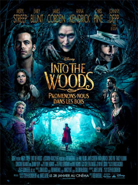Into The Woods, le film musical de 2014