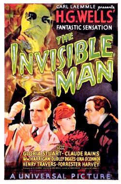 L'homme invisible, le film de 1933