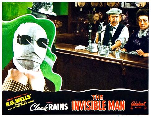 L'homme invisible, le film de 1933