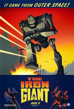 Le géant de fer, le film animé de 1999