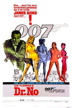 James Bond 007 contre Docteur No, le film de 1962