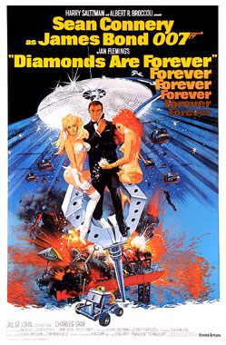 James Bond: Diamonds Are Forever, le film de 1971