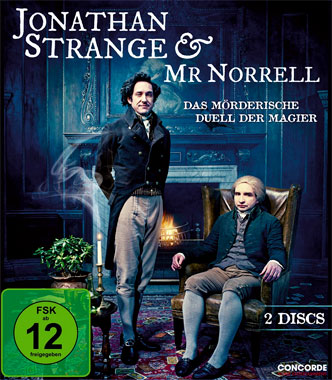 Jonathan Strange & Mr. Norrell, le blu-ray allemand de 2015